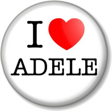 I Love / Heart Adele - Singer Songwriter Music Star